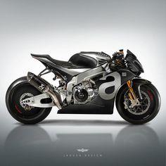 "5,870 Likes, 18 Comments - Cafe Racers and Life (@epidemic_motors) on Instagram: ""RSV4 JKS custom by @jakusadesign aprilia #StartYourEngines #motorcycle #bike #custom #ride…"""
