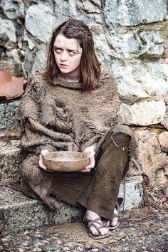 Maisie Williams as Arya Stark – photo Macall B. Polay/HBO (Game of Thrones, Season 6)