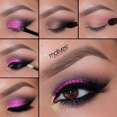 Find images and videos about pink, makeup and girly on We Heart It - the app to get lost in what you love. Makeup Eye Looks, Eye Makeup Tips, Smokey Eye Makeup, Cute Makeup, Makeup Goals, Gorgeous Makeup, Pretty Makeup, Skin Makeup, Eyeshadow Makeup