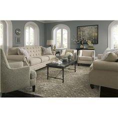 american furniture 3750 romance graphite 3 piece living room set rh pinterest com
