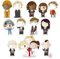 GLEE_TER: mash up of Glee and Harry Potter