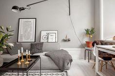En fotos: un pequeño departamento estilo nórdico