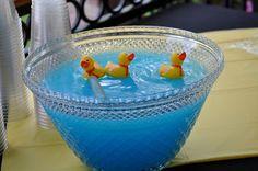 Sesame Street Birthday Party - Ernie's Rubber Duck Punch