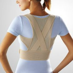 Posture Corrector Belt Back Shoulder Brace Support Corrective Vest Orthopaedic in Health & Beauty | eBay