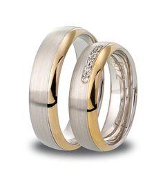 Promiseringer i hvitt og rødt gull (Kevs Wedding Band!)