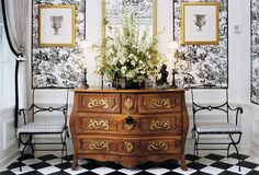 Design Icon: the Bombe Chest -- One Kings Lane. I love the ste of this room.