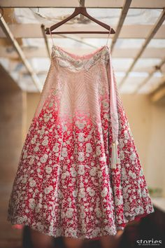Anamika Khanna bridal lehenga re use grandmother's wedding outfit Shonan & Adesh