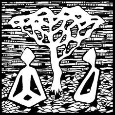 Francois Pretorius - The Liminal Ones 002 (2014) #art #illustration #b&w #design #africa #fineart