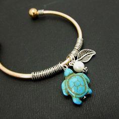 Turtle Bangle Bracelet by 4Everinstyle on Opensky