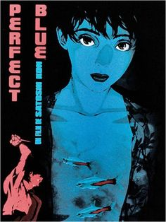 'Perfect Blue Poster IV' Poster by Ukawa Manga Art, Manga Anime, Tokyo Godfathers, Satoshi Kon, Blue Poster, Animation, Portraits, Love Movie, Oeuvre D'art