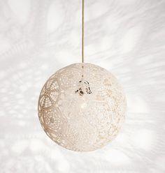 Anleitung für ein Luna 5 Lampenschirm