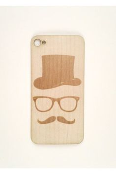 Top Hat iPhone case...I want!!!