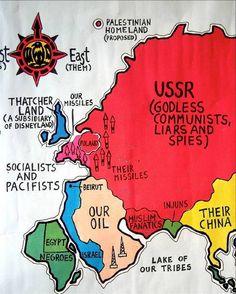 The World According to Ronald Reagan.