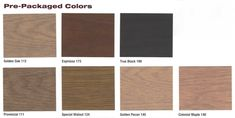 Stain colors: Want to stain your new or newly resurfaced wood floors? Rhodes Hardwood offers many different shades of wood floor stains; Types Of Wood Flooring, Hardwood Floors, Duraseal Stain, Oak Floor Stains, Floor Stain Colors, Oak Stain, Golden Oak, Color Swatches, Family Room