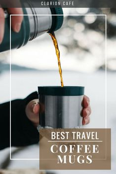 If you prefer to keep your coffee and tea super hot (or cold) throughout the day, you have probably spent some time trying to find a thermos style travel mug or tumbler that best suits your needs. I have tested several of the top brands in my day to day r Coffee Thermos, Coffee Tumbler, Coffee Drinks, Best Travel Coffee Mug, Best Coffee, Travel Mugs, Coffee Time, Coffee To Water Ratio, Coffee Around The World