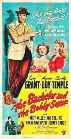 Not only love this movie because Cary Grant is it but it was also Shirley Temple's last movie!!