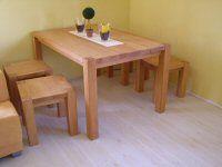 Massivholztisch aus Buche