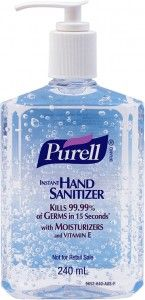 Two Coupons for $1 off Purell  ill admit, ilove the smell of hand sanitizer