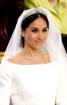 Here's everything you need to know about Meghan Markle's wedding tiara. #MeghanMarkle #Tiara #RoyalWedding #HarryAndMeghan #WeddingInspiration