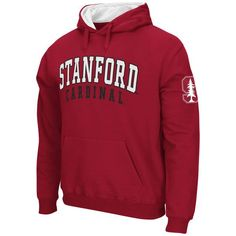 Stanford Cardinal Stadium Athletic Double Arches Pullover Hoodie - Cardinal - $34.99