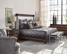 Sonoma Bedroom ... Love this bed & bedding