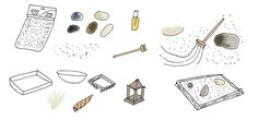 zen garden ilustraton - Google Search