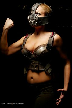 """Lady Bane cosplay by Nicole Marie Jean"" Holy hot Lady Bane. I either want to be her...or on her arm."