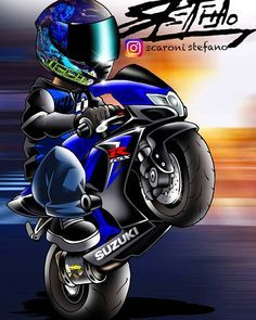 ideas for motorcycle art suzuki Suzuki Motorcycle, Motorcycle Clubs, Motorcycle Tattoos, Gsxr 750, Duke Bike, Bike Drawing, Stunt Bike, Cycling Art, Bike Art