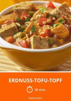 Erdnuss-Tofu-Topf - smarter - Zeit: 30 Min. | eatsmarter.de