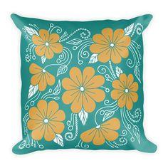 Decorative Pillow - Pillow - Pillow Cover - Throw Pillow - Accent Pillow - Floral Pillow