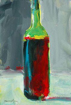Wine Bottle Study 13