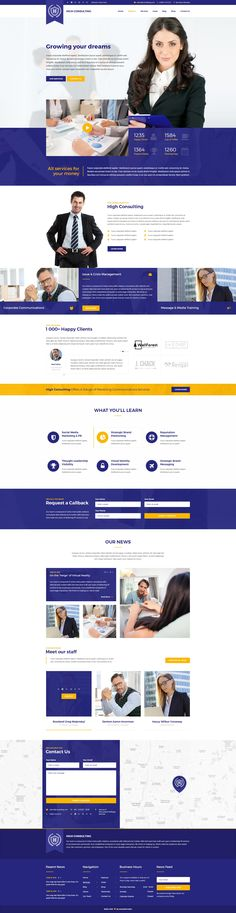 High Consulting PSD Template ready for any business and personal website. You may freely use it to create your own website better than any other. Many elements and graphic inluded in this be...