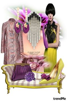 Purple and Yellow, By Performance  from  Performance  Maria de Fatima Moraes Rodrigues - Chopard, Yves Saint Laurent,Kate Spade, Elie Saab, Retrô Chic!