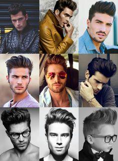 men's pompadour modern style!