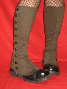 Designer Clothes, Shoes & Bags for Women Steampunk Spats, Steampunk Costume, Steampunk Clothing, Steampunk Fashion, Old Boots, Shoe Boots, Diy Fashion, Vintage Fashion, Weird Fashion