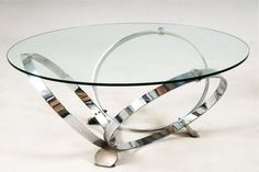 round glass coffee table metal base - Coffee Tables Ideas : Coffee ...