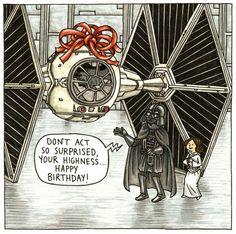 Star Wars: Vader's Little Princess by Jeffrey Brown Images) Star Wars Rebels, Bd Star Wars, Star Wars Comics, Star Wars Art, Lego Star Wars, Star Trek, Darth Vader And Son, Starwars, Star Wars Personajes