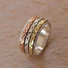 Garnet Jewelry, Garnet Rings, Bridesmaid Rings, Friendship Rings, Meditation Rings, Mother Rings, Thumb Rings, Spinner Rings, Homemade Jewelry