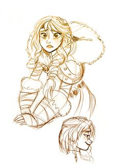 Astrid// I love the disney animation style! Character Design Cartoon, Character Sketches, Character Drawing, Character Design Inspiration, Disney Sketches, Disney Drawings, Art Sketches, Disney Kunst, Arte Disney