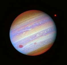Jupiter in Five Filters by Judy Schmidt Astronomy Pictures, Space And Astronomy, Astrophysics, Detail Art, My Tumblr, Schmidt, Outer Space, Cosmic, Galaxies