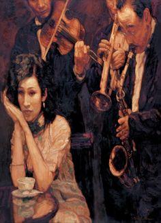 Chen Yifei - Shanghai Dream