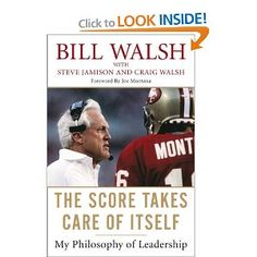 A great book about Bill Walsh, the coach of the 49ers. Bill has really amazing insights on how to build a great culture. Jack Dorsey frequently recommends this book.