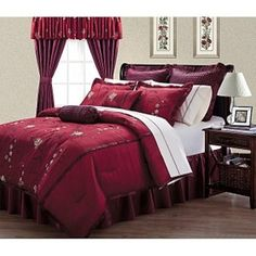 Burgundy Bedroom On Pinterest Bedrooms Master Bedrooms And Beds