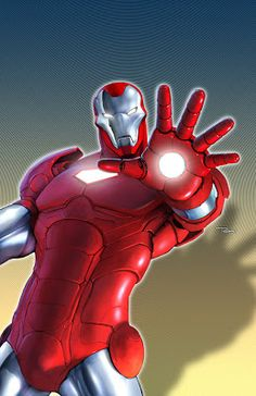 Thanks to Marvel, Iron Man is now a household name. Who wouldn't want to be Tony Stark? Marvel Cartoons, Marvel Comics Superheroes, Marvel Heroes, Marvel Characters, Marvel Art, Tony Stark, Comic Books Art, Comic Art, Superman