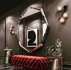 Interior Architecture, Interior Design, Oversized Mirror, Furniture, Marble, Decoration, Home Decor, Architecture Interior Design, Nest Design