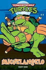 Michelangelo - My favorite!