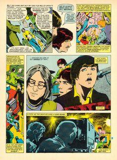 The Beatles in Comics | Brain Pickings