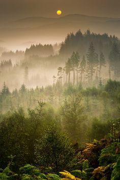 "sublim-ature: ""Duke's Pass, Scotland David Mould """