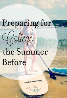 The time is here, it's the summer before you head off to college and you couldn't be more excited! Now is the time to sit down and prepare yourself for the change to come. Moving to college,...