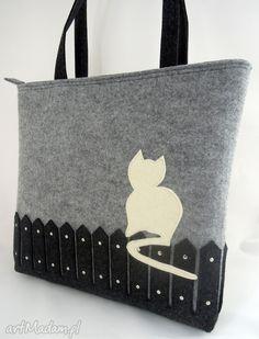 Laptop bag Laptop Felt Bag with a Cat Messenger Grey big Size Cat Lover Gifts, Cat Lovers, Mobile Pocket, Laptop Bag, Making Out, Really Cool Stuff, Sheep, Shopping Bag, Messenger Bag